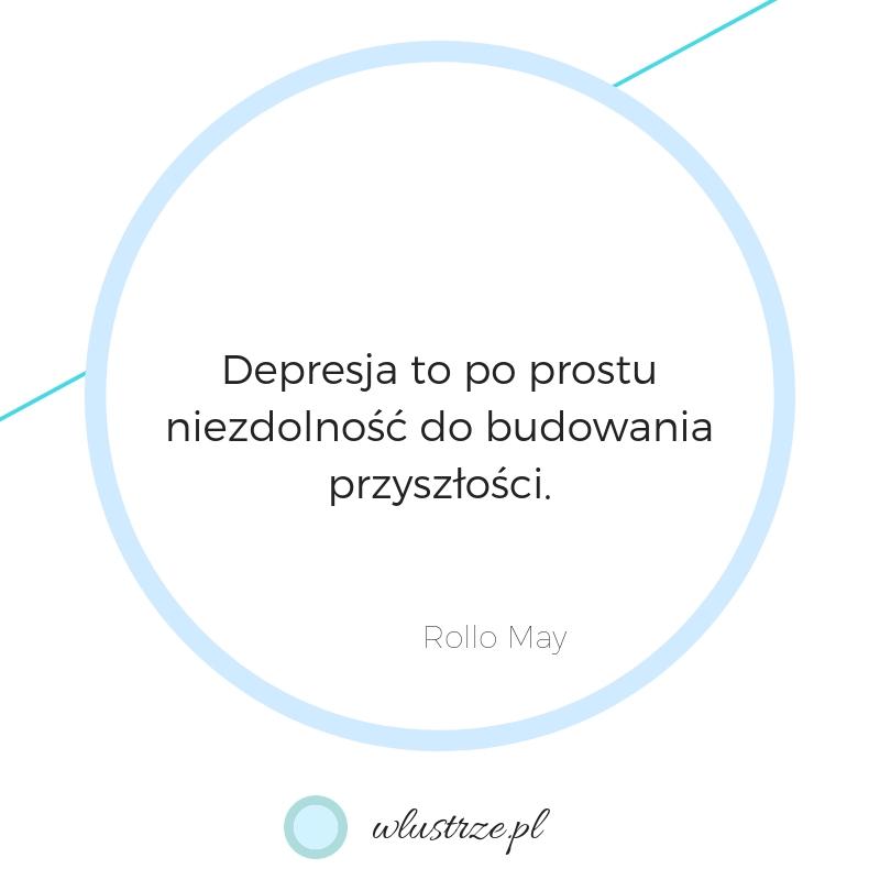 Objawy depresji | wlustrze, grafika tekstu