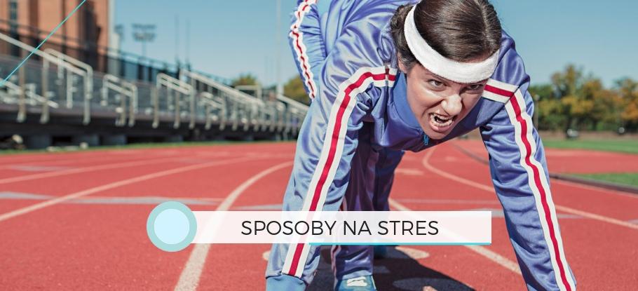 Sposoby na stres - grafika tytułowa