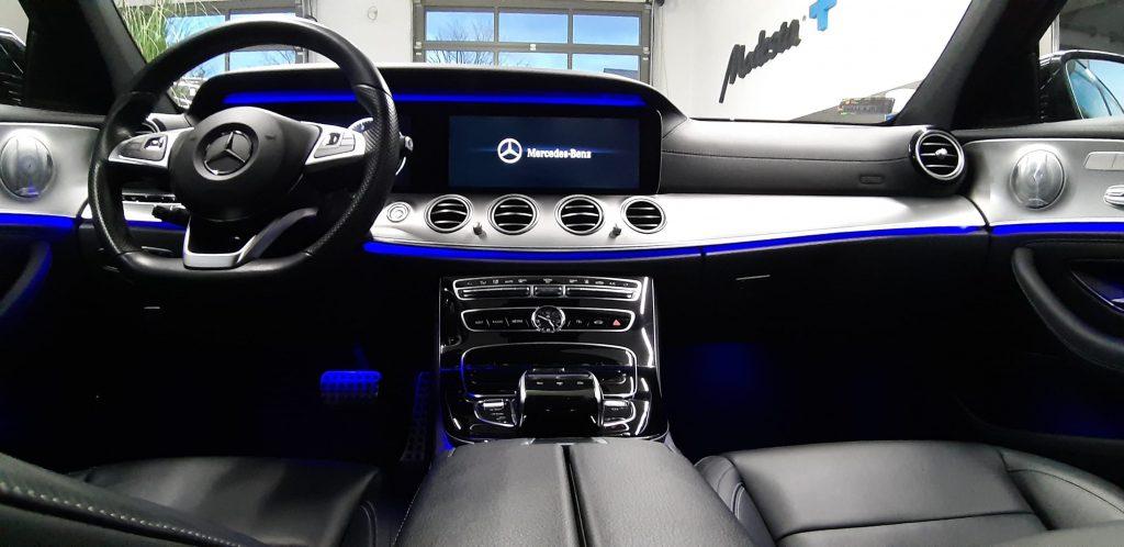 Mercedes E350 e - Auto dla kobiety