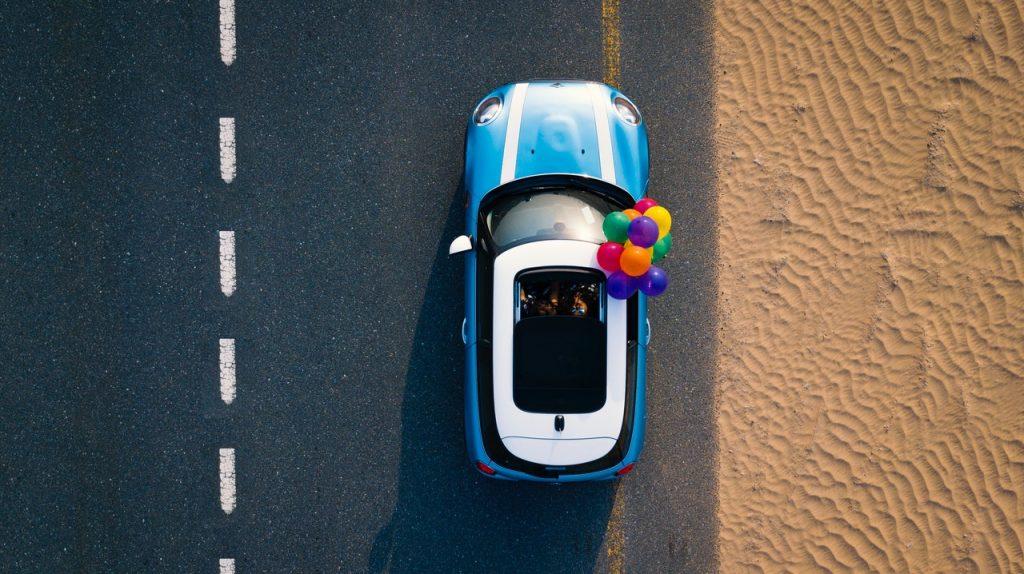 Mini - samochód dla kobiety