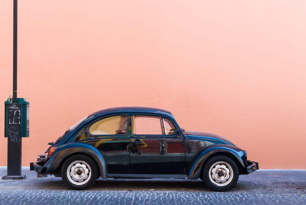 Garbus - New Beetle - samochód dla kobiety